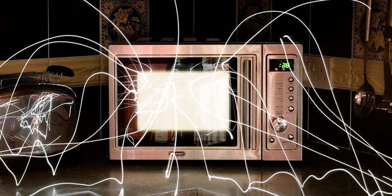 radiazioni del forno a microonde